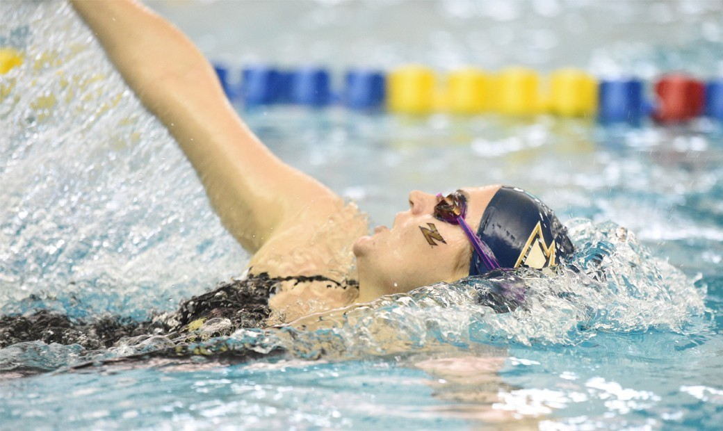 Akron Leads After Day Two at MAC's